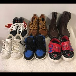 🎉Lot of boys shoes